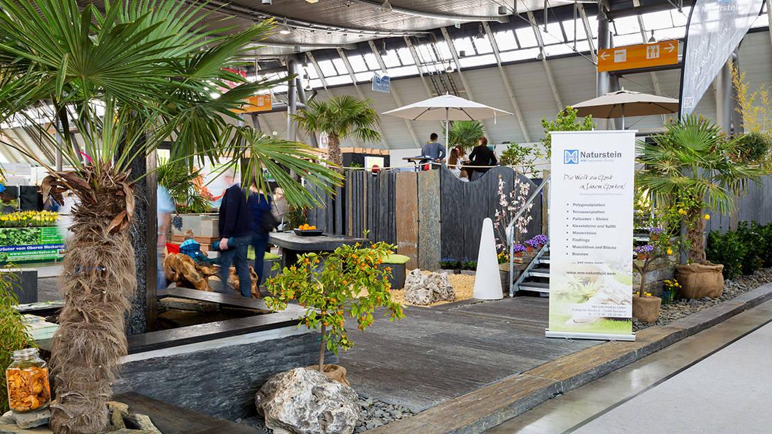 Die MM Trade Naturstein GmbH ist auf zahlreichen Ausstellungen vertreten