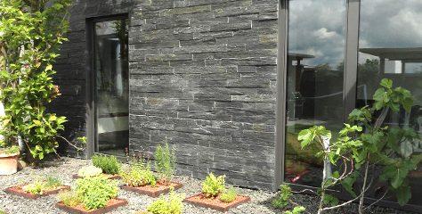 Wandverblender aus Naturstein machen Ihre Außenwände zu einem herrlichen Blickfang