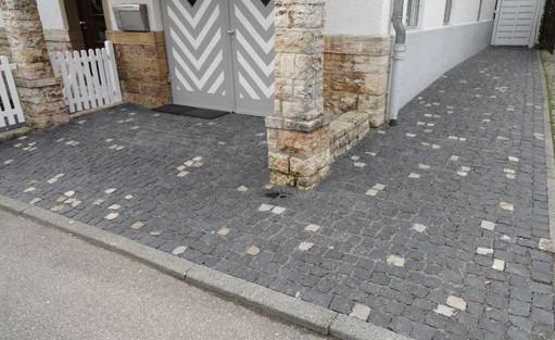Pflaster Steine für den Rems-Murr-Kreis.